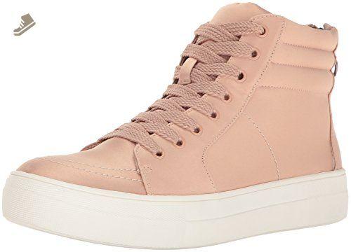 b9b44326dff Steve Madden Women's Golly Fashion Sneaker, Blush Satin, 7.5 M US ...