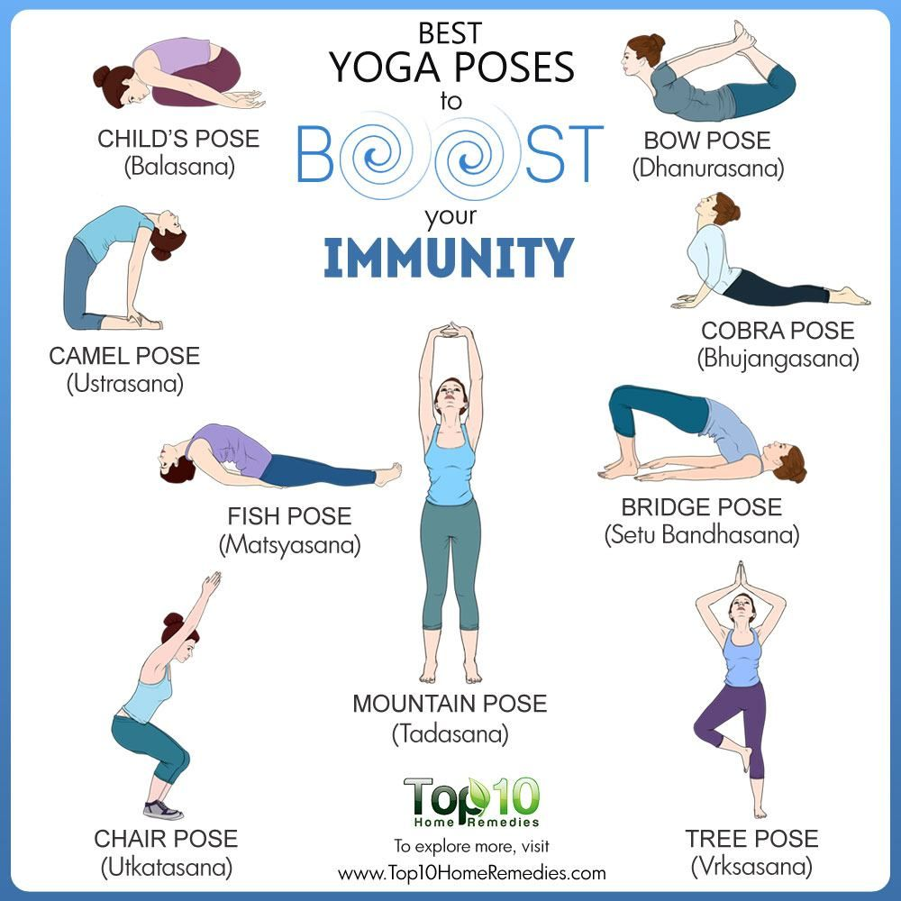 46 Best Yoga Poses to Boost Your Immunity  Top 46 Home Remedies