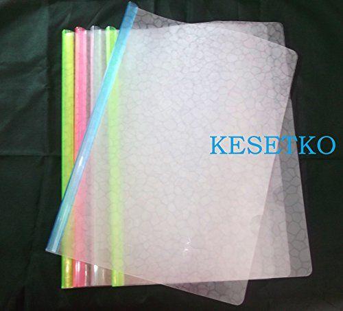 KESETKO Stick File, Report File, A4 Marble Design Multi-C