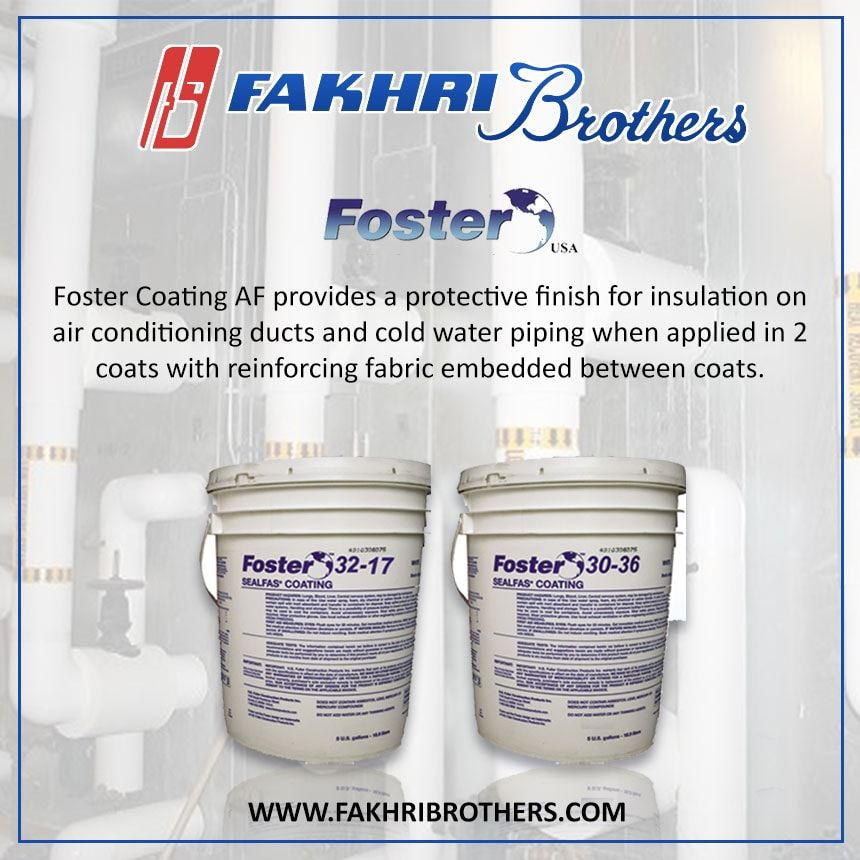 Foster Coatinf AF provides a protective finish for