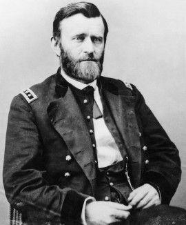 General Ulises S. Grant en uniforme (Derechos de Autor Bettmann / Corbis / AP)