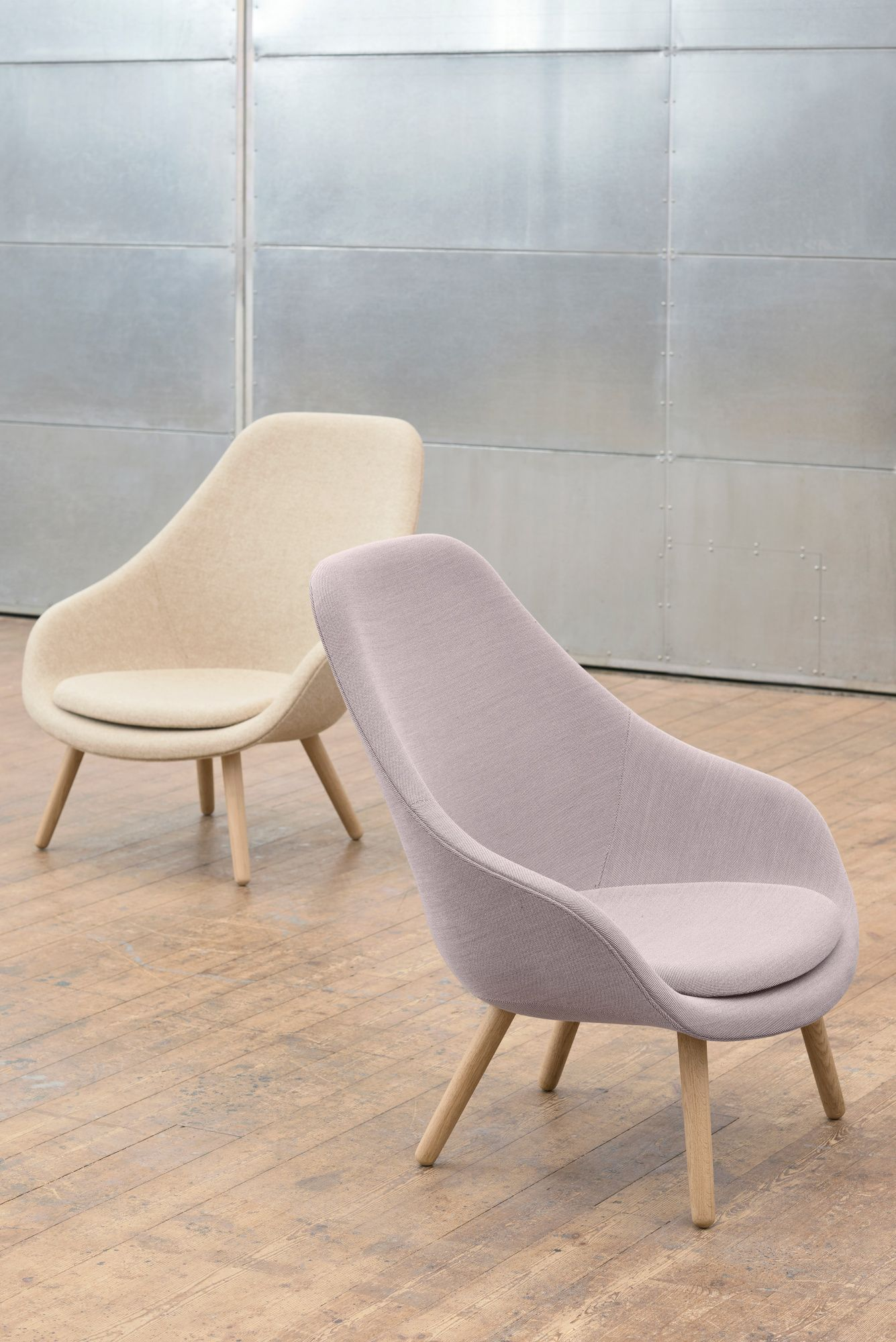 Hay Lounge Stoel.Hay About A Lounge Chair High Aal93 Fauteuil In 2019 Huge Dc