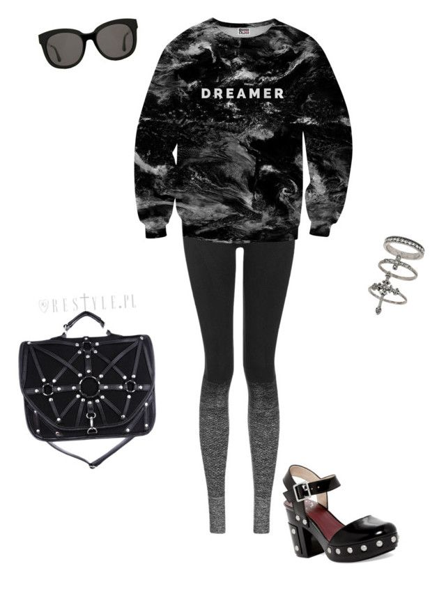 """""""Unseen dreams."""" by sophiepinkcheeks on Polyvore featuring Topshop, Mr. Gugu & Miss Go, Marc by Marc Jacobs, Gentle Monster and Miss Selfridge"""