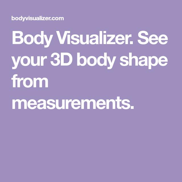 femal body visuliser