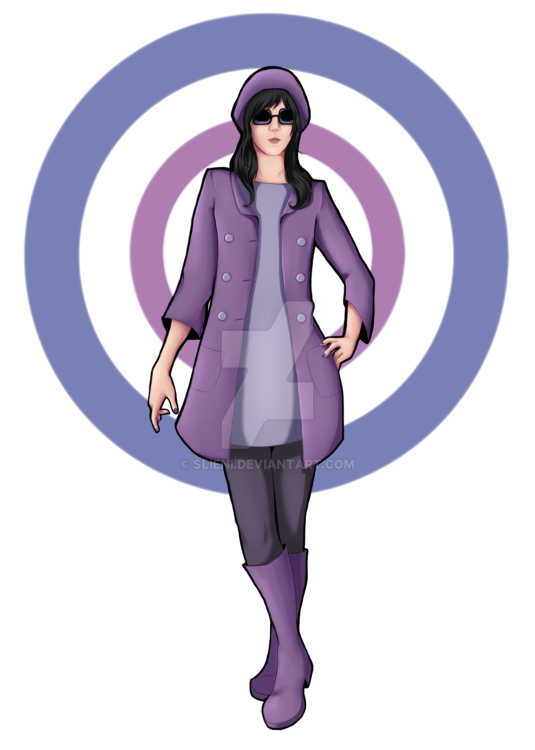 Kate Bishop Outfit from Hawkeye #6 fanart by slieni