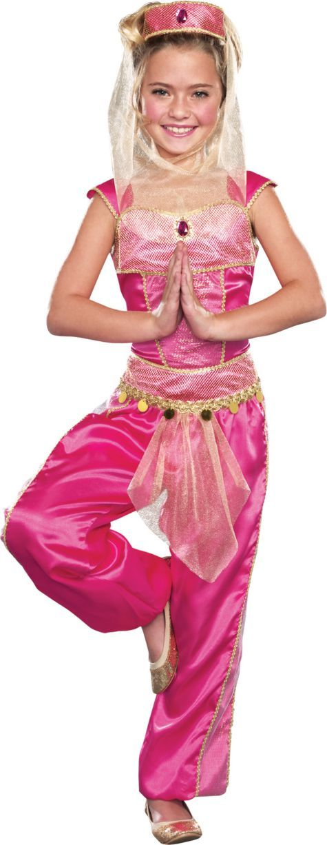 Girls Dream Genie Costume - Party City  sc 1 st  Pinterest : aladdin costume for boy  - Germanpascual.Com