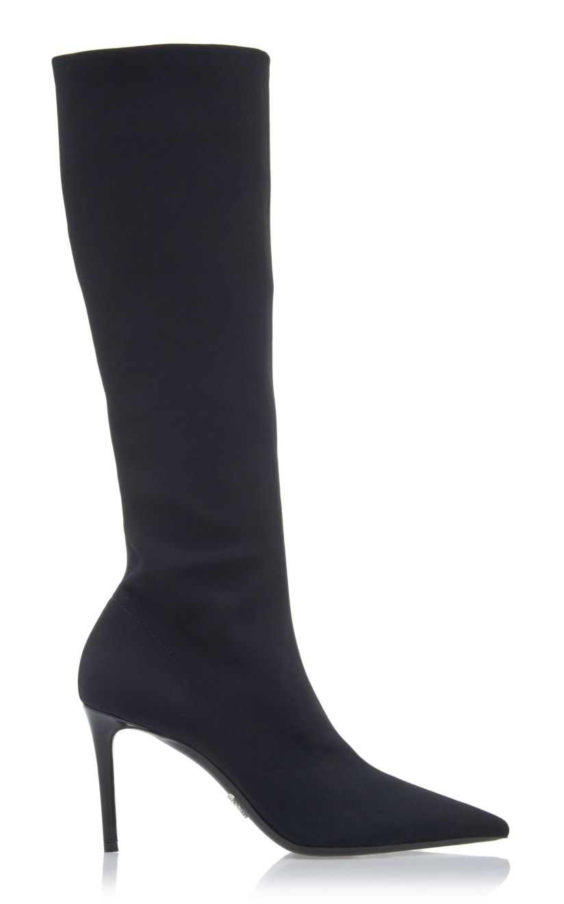 Suede boots knee high, Boots, Knee boots