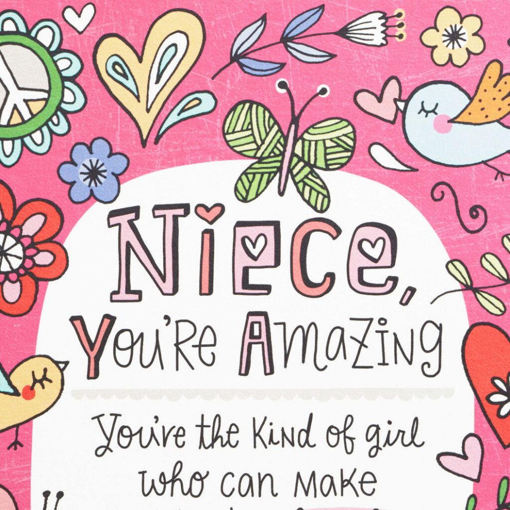 niece birthday card images