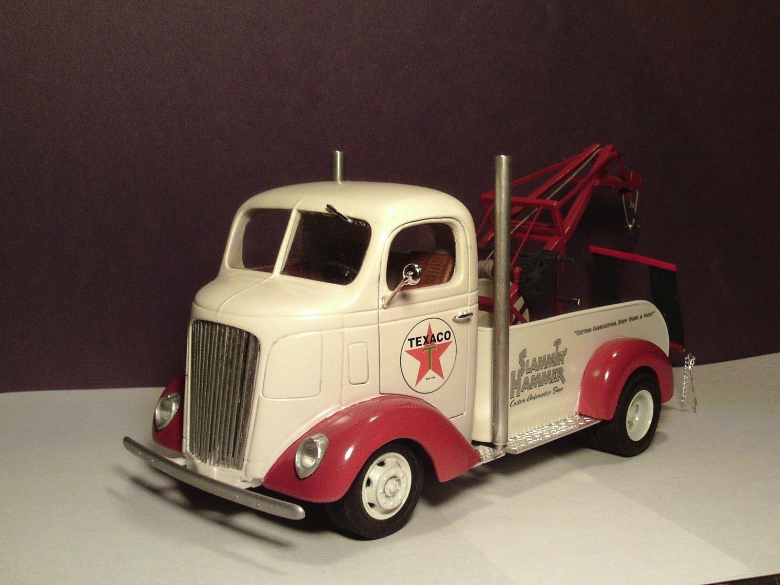 1938 gmc coe texaco tow truck manley wrecker boom custom built hot