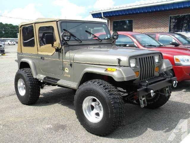 1989 Jeep Wrangler Sahara Jeep Wrangler Sahara Jeep Wrangler Jeep Yj