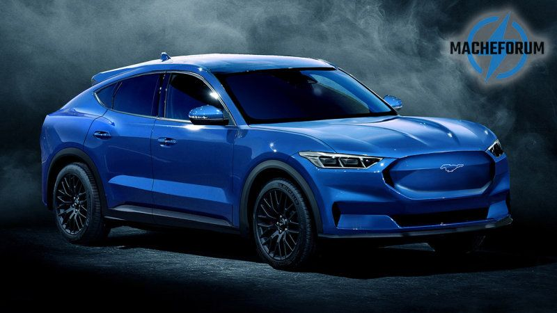 Ford Mach E Electric Crossover Rendered Ford Mustang Ford Mustang Suv Electric Crossover