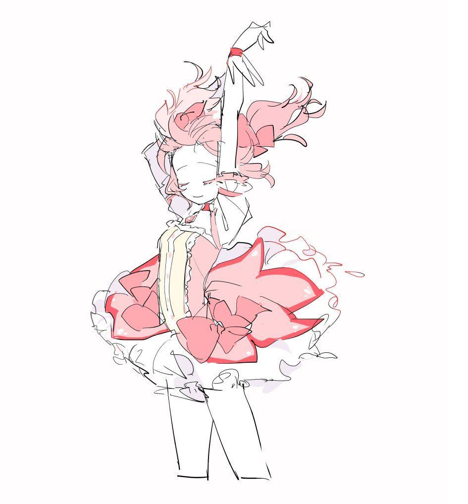 ぴぴお On Madoka Magica Anime Art Anime Base