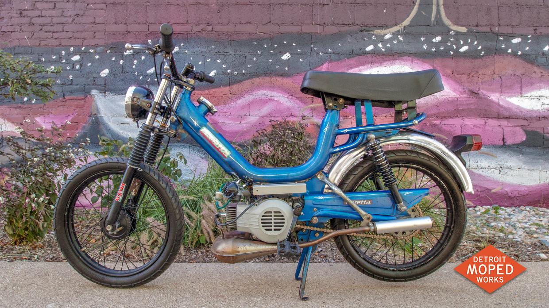 1979 Baretta V1 (SOLD) | Detroit Moped Works: Vintage two