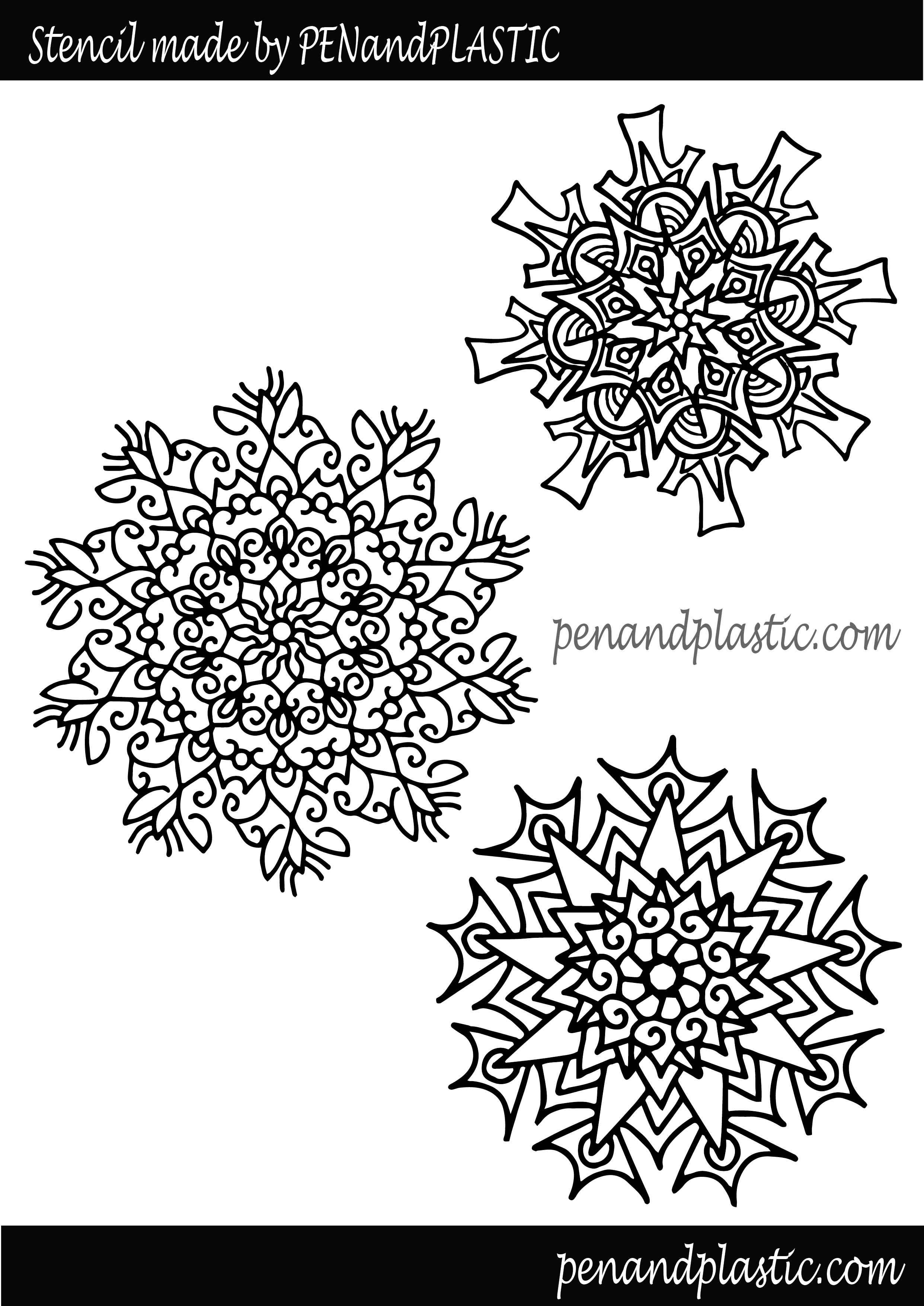 3d pen snowflake template  snowflake stencil | 6d pen stencils, 6d drawing pen, Pen art
