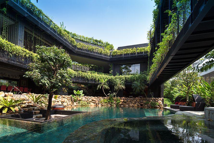 Cornwall Gardens Singaporessa - talo kuin viidakko | Oikotie - Kotiin