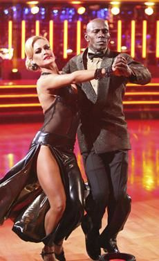 Dancing With The Stars Season 14 Spring 2012 Donald Driver and Peta Murgatroyd Tango