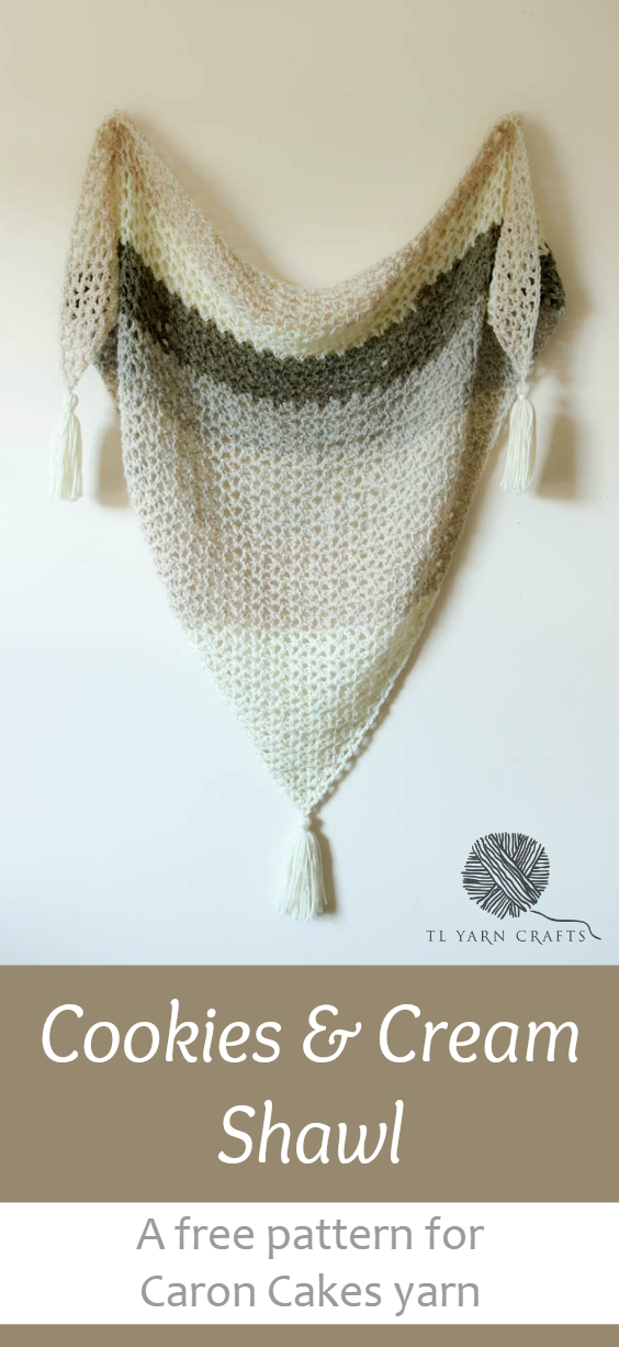 Make the Cookies & Cream Shawl | Pinterest | Ponchos, Chal y Crochet ...