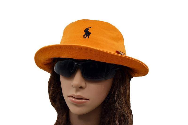 Mens   Women Unisex Polo Ralph Lauren Small Pony Embroidery Fisherman Bucket  Hat - Orange   Black 3ad58c1dae2