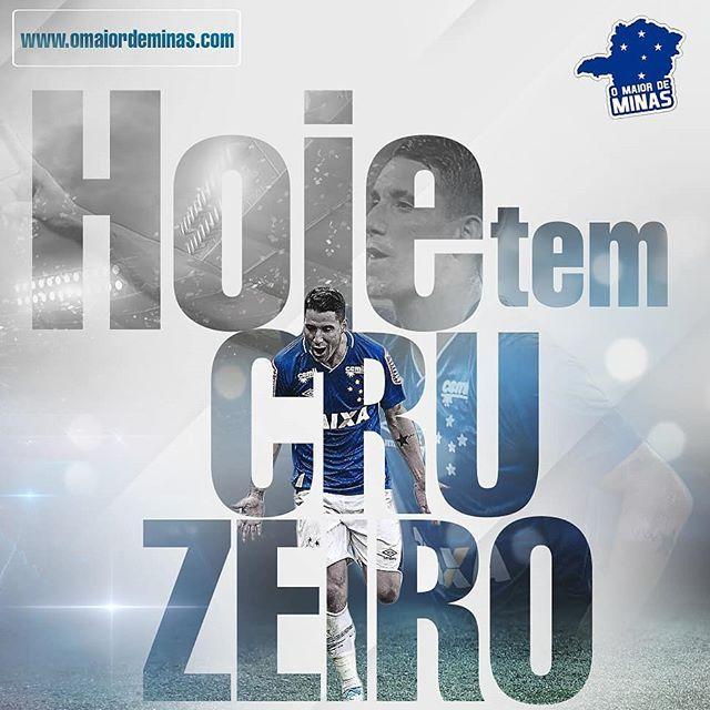 1ae97ae007 Hoje tem Cruzeiro! Vamos rumo à vitória!  CampeonatoMineiro  Final ...