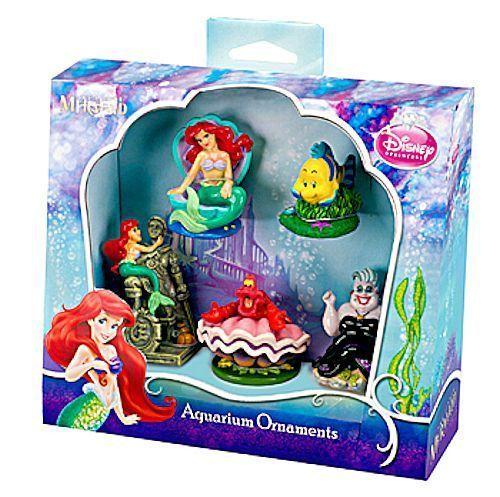 Disney The Little Mermaid Ariel Collectible Figurine Ebay Aquarium Ornaments Disney Little Mermaids Mini Aquarium