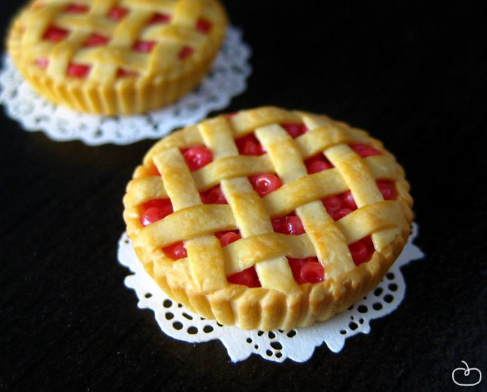 polymer clay pie - Google Search