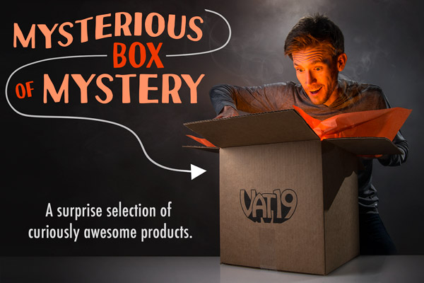 The Mysterious Box of Mystery Small Mystery, Vintage
