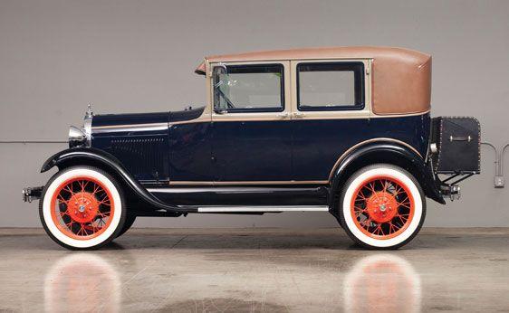 1929 Ford Model A Leatherback Fordor Sedan California Old Vintage Cars Ford Models 1929 Ford Model A
