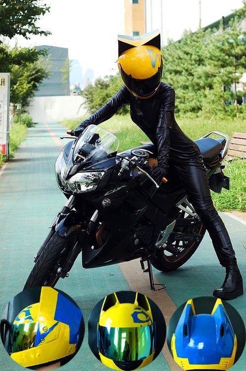 Details About Motorcycle Helmet Durarara Season 2 Link Cosplay