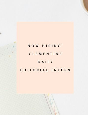 We are looking for a stellar editorial intern to join our team and hit the ground running in 2015! Is it you?