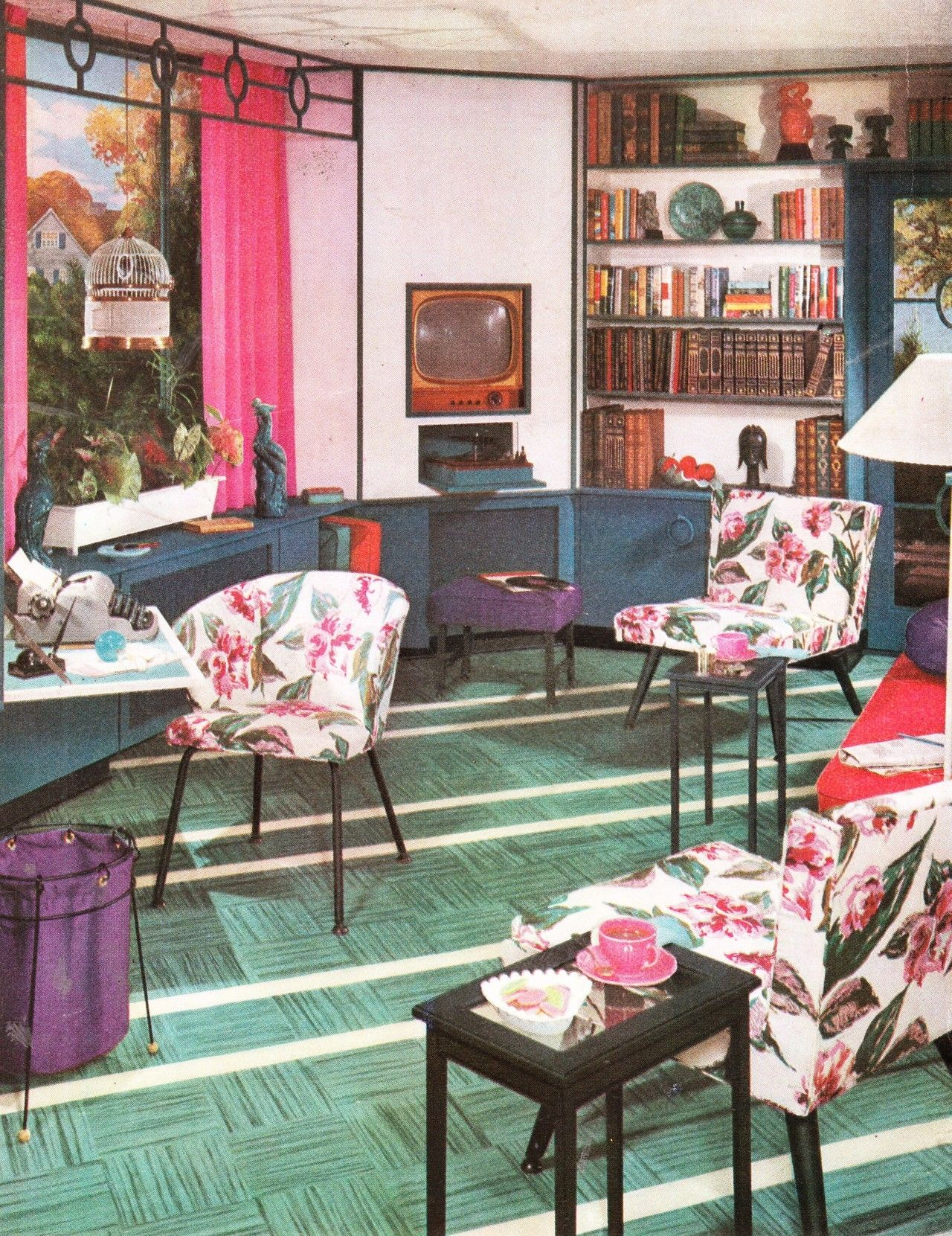 Rumpus Room Designs: Decor, Vintage Interiors, Room