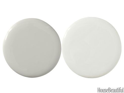 Sherwin Williams paint - Sensible Hue SW6198 and Aloof Gray SW6197