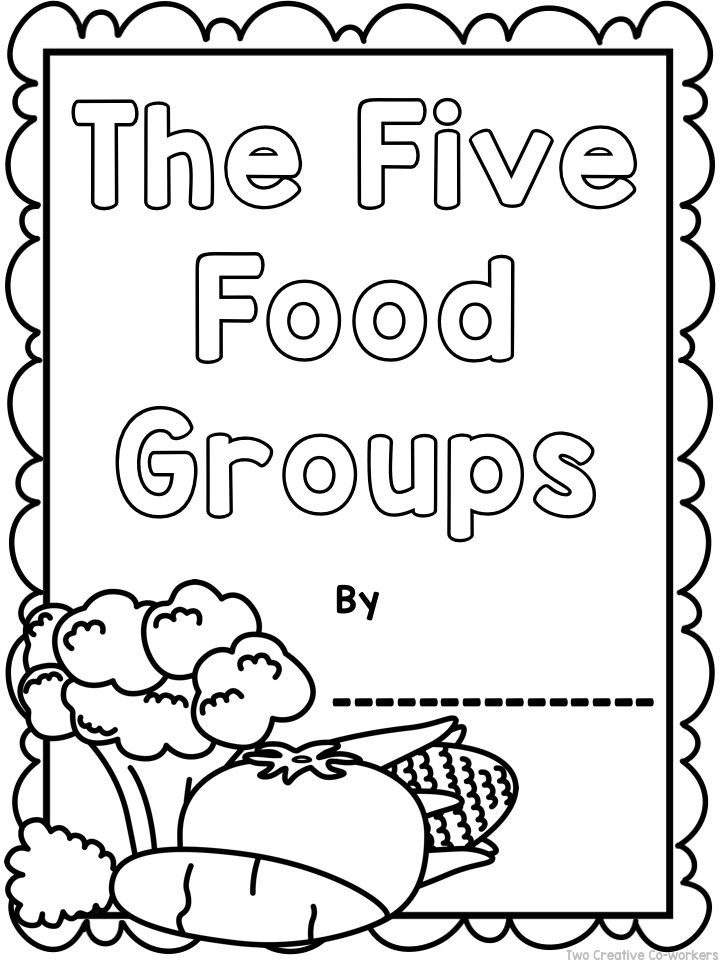 The Food Groups {Printable worksheets, mini book, & posters} | TpT ...