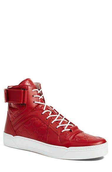 18adb406caf Gucci  New Basketball  High Top Sneaker (Men)