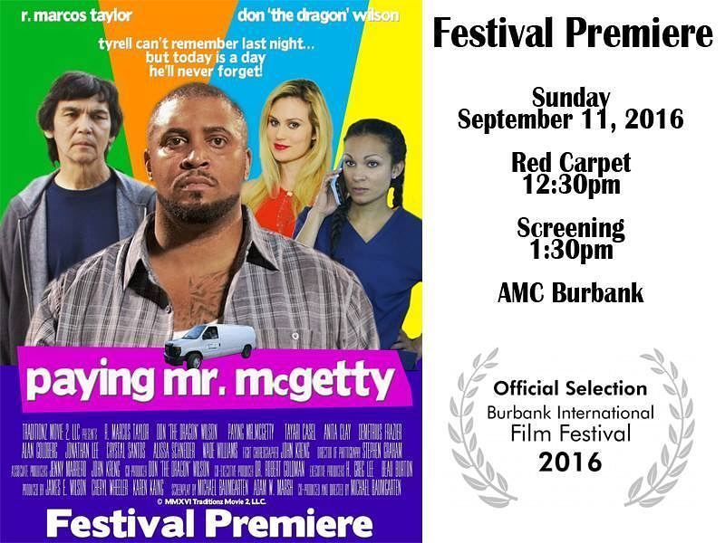 HOLLYWOOD PREMIERE OF NEWEST MOVIE by Dr Robert Goldman- 'Paying ...