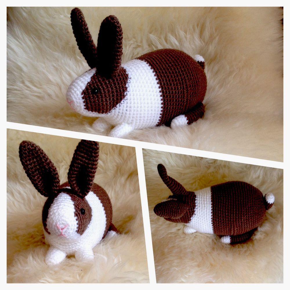 spielzeug kuscheltier kaninchen h keltier amigurumi toy baby kinder hase in spielzeug. Black Bedroom Furniture Sets. Home Design Ideas