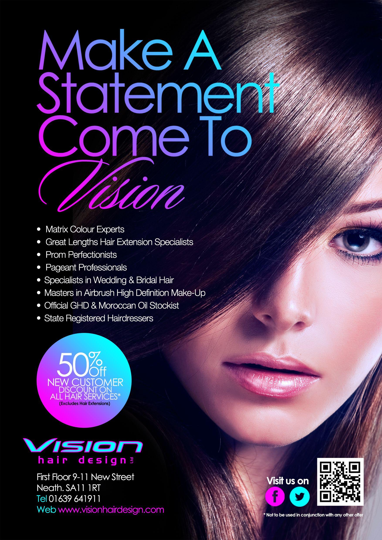 Vision 2014 Flyer | shams4print@yahoo.com | Pinterest | Salons