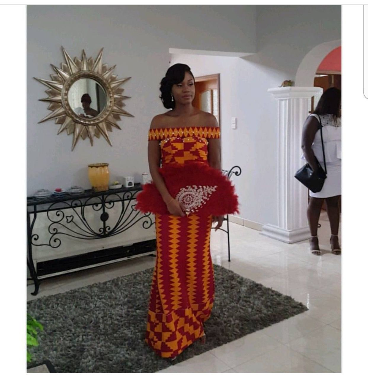 Simply beautiful gown made by elormfiagbe for her traditional
