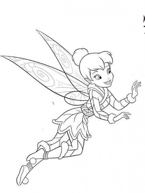 Dibujos para colorear - Disney | Tinkerbell Colorear | Pinterest ...