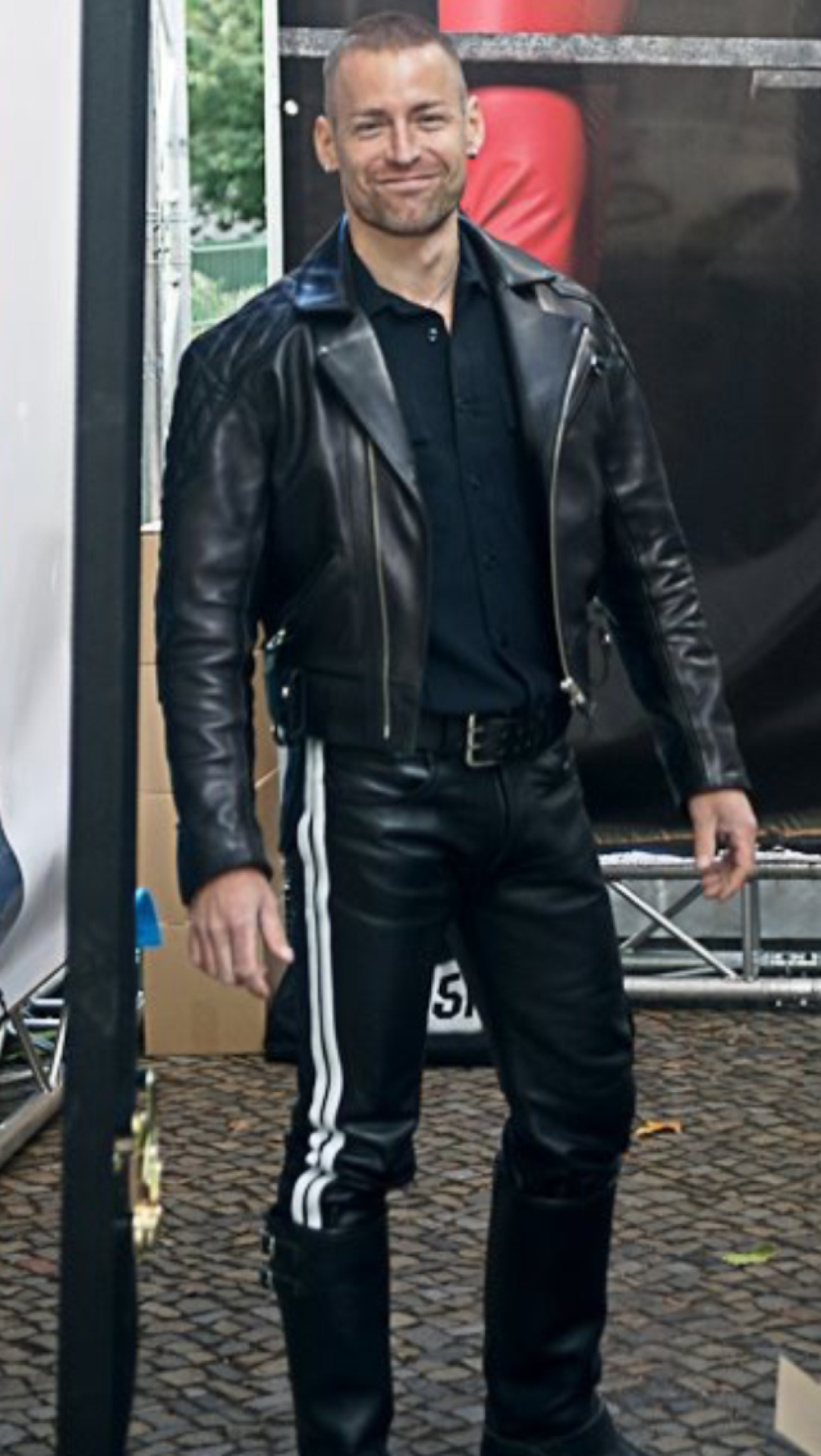 Leathermanonamission Leather Jacket Men Mens Leather Pants Mens Leather Clothing [ 1920 x 1082 Pixel ]