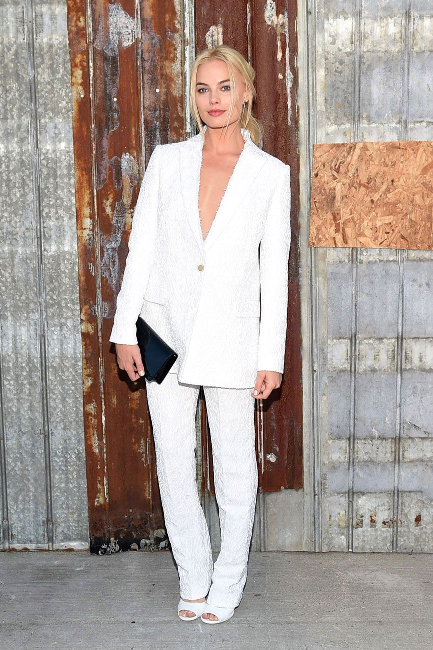 NYFW: Margot Robbie at Givenchy