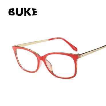 cfa3b3711fa7 BUKE Fashion Women Cat Eye Glasses Frame Popular Ladies Optical Vintage  Black Designer Brand eyewear Frames Ladies Eyeglasses