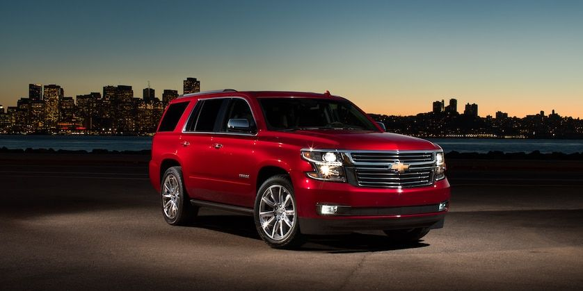 2018 Tahoe Suv Exterior Photo Front Siren Red Chevy Tahoe