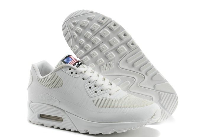 new style bd66c 1c2e1 Nike Air Max 90 Hyperfuse PRM Mens Shoes White Online