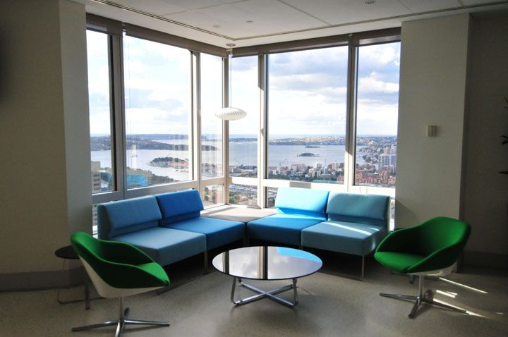 modern lobby office interior design contemporary style