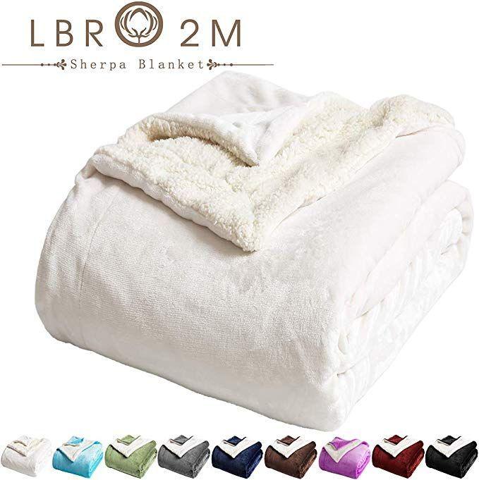 Luxury Mattress Topper Soft Fleece Sherpa Matress Sheepskin Fur Comfortable Warm