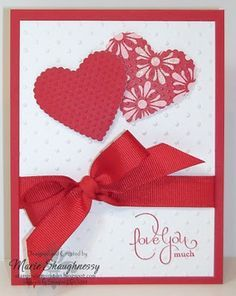 image result for stampin up hearts a flutter card ideas stampin up