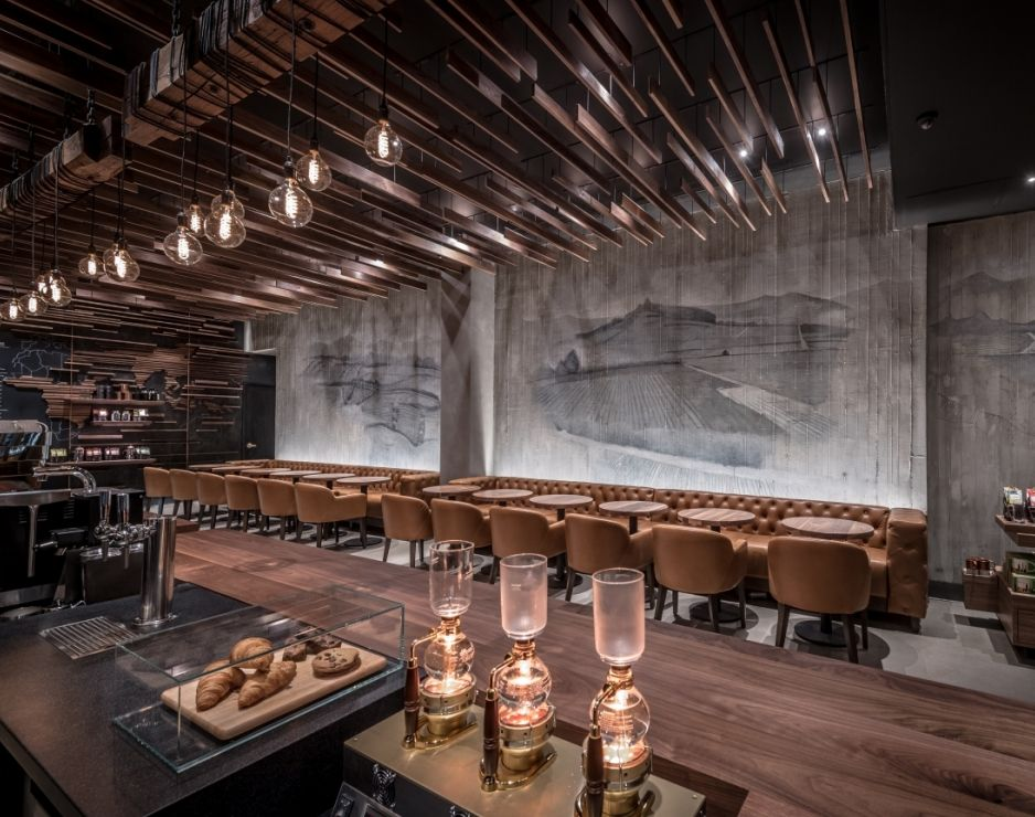Starbucks Reserve Coffee Takes Center Stage In New York