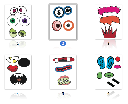 image about Build a Face Printable named Pin upon minimal kinds