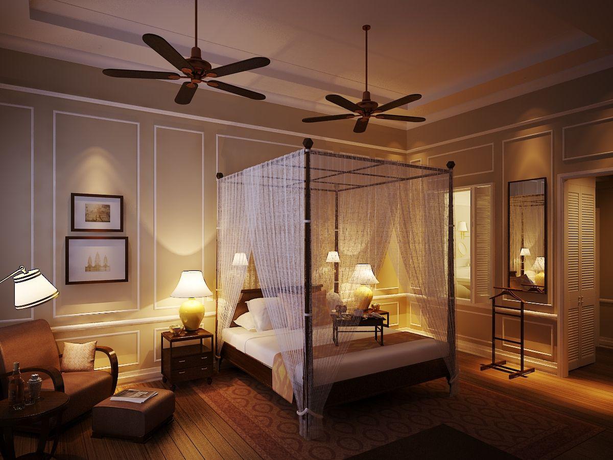 Colonial chic raffles hotel le royal phnom penh i 39 m in for Hotel chic decor