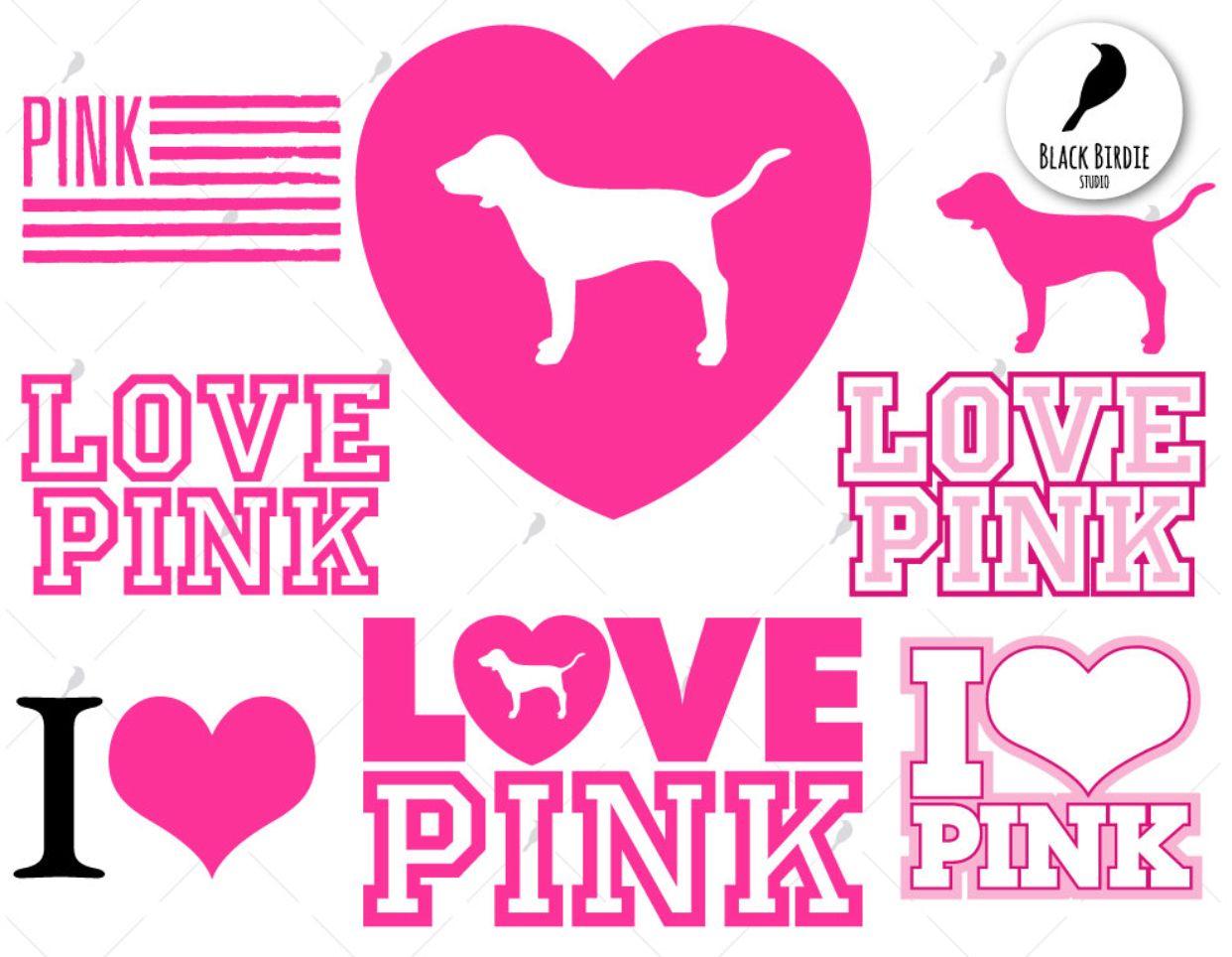 Idea by Debbie Prosser on Cricut Victoria secret pink